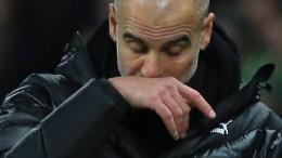 Guardiola und ein Tag zum Vergessen