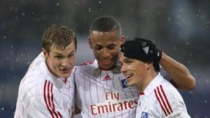 Hamburg zieht an Bayern vorbei - Dortmund remis