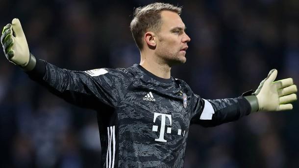 Bayern-Torhüter Neuer schlägt Alarm