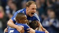 Schalke rettet sich mit Leidenschaft