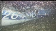 Auf dem Boden des Meeres wurde das Wrack von Salas Flugzeug entdeckt.