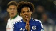 So hatten sich die Schalker um Sané den Rückrundenstart nicht ausgemalt.