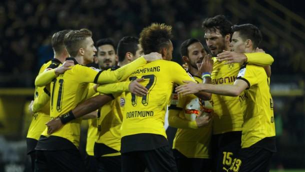 Dortmund lässt die Bayern nicht ziehen