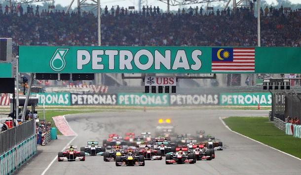 Gewohntes Bild: Vettel nutzt den Vorteil der Pole Position