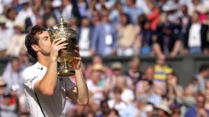 Andy Murray ist zum zweiten Mal der Rasenkönig