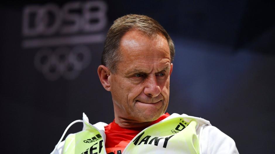 Nun also doch: DOSB-Präsident Alfons Hörmann tritt zurück.