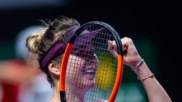 Titelverteidigerin Switolina unbesiegt im Halbfinale
