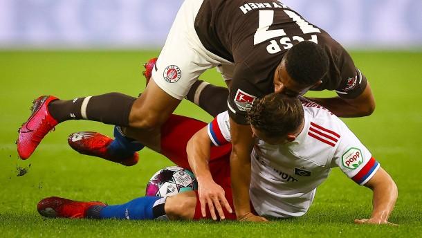 St. Pauli ärgert den HSV im Hamburger Derby