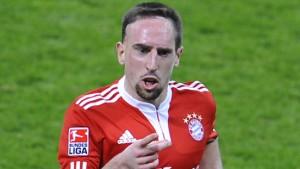 Bayern dank Ribery an der Spitze