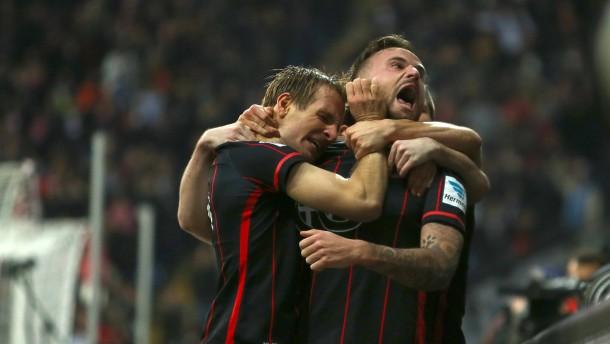 Bescherung für Eintracht Frankfurt