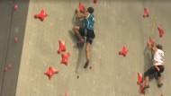 Schnell nach Olympia klettern