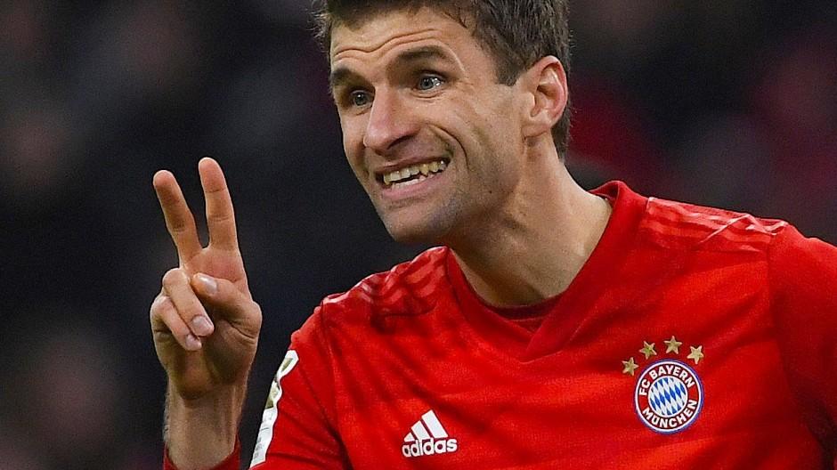 Thomas Müller hatte beim FC Bayern eine schwere Zeit zu überstehen.