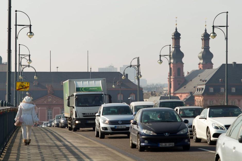Mainz Stau