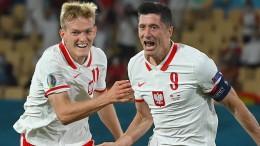 Lewandowski hält Polen im EM-Rennen