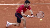 Fokussiert: Novak Djokovic