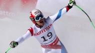Patrick Küng wird Weltmeister in der Abfahrt und könnte die ganze Welt umarmen