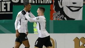 Die Eintracht quält sich zum Sieg in Heidenheim