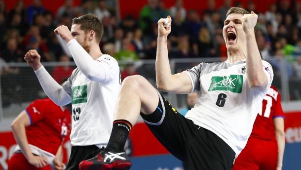 Handball-EM 2018: Deutschland besiegt Tschechien