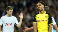 Frustrierender Auftakt: Aubameyang und der BVB verlieren gegen Tottenham