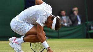 Nadal scheitert in Marathon-Match