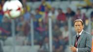 Der Ballbeschwörer von Bukarest: Christoph Daum gewinnt mit Rumänien