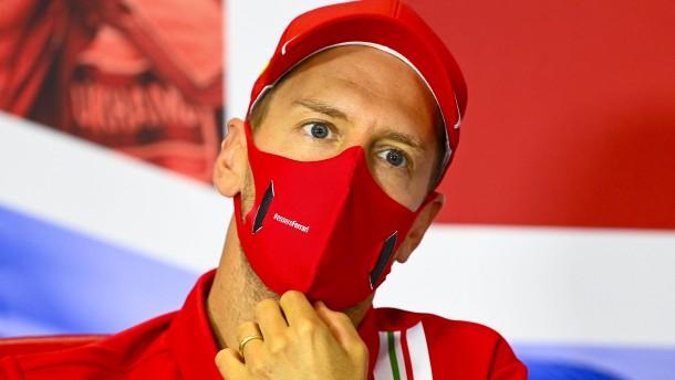 Vettel wird brutal ausgebremst