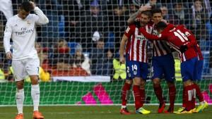 Atlético gewinnt im Bernabeu