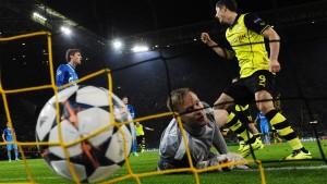 Dortmund zehrt vom Hinspielsieg
