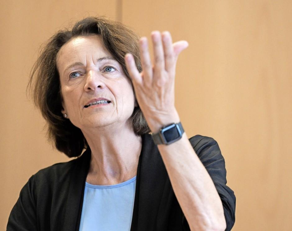 Bundestagsabgeordnete mit Blick für den Sport: Dagmar Freitag
