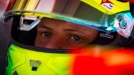 In welche Zukunft blicken diese Augen? Der Weg für Mick Schumacher in die Formel 1 ist möglich.