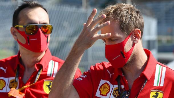 Eindringliche Mahnung von Sebastian Vettel