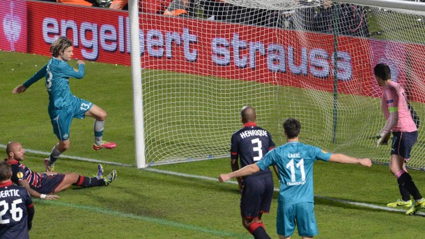 "Frankfurt gewinnt ""Heimspiel"" in Bordeaux"