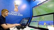 Kontrollzentrum der Fußball-WM: In Moskau sitzen die Video-Assistenten