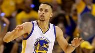 Die große Show das Stephen Curry war es nicht, Golden State gewann dennoch.