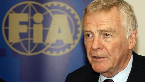 Früherer Automobil-Weltverbandschef Max Mosley ist tot