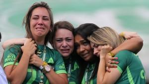 Die tränenreiche Rückkehr des AF Chapecoense
