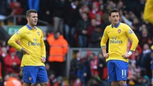 Arsenal geht an der Anfield Road unter