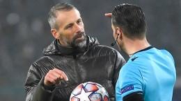 Gladbacher Ärger entlädt sich am Schiedsrichter