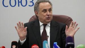 Mutko tritt als Cheforganisator der WM 2018 zurück