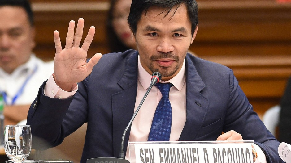 """Manny Pacquiao: """"Die Zeit ist gekommen, wir sind bereit für diese Herausforderung""""."""