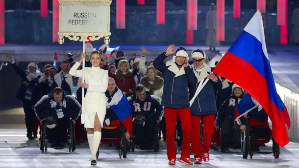 Russen bei Paralympics unter neutraler Flagge