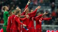 Elf Spieler vom FC Bayern stehen zur Wahl