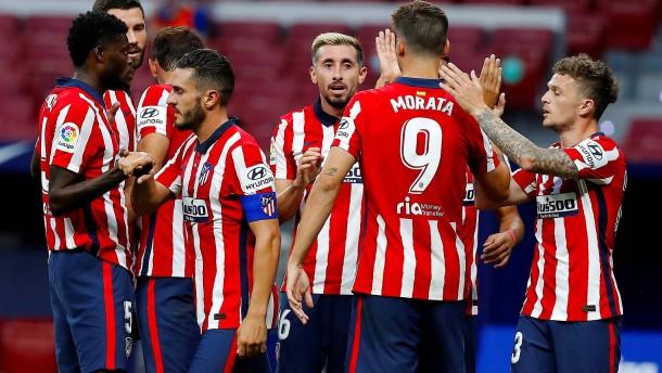 Zweite Corona-Testreihe bei Atlético negativ