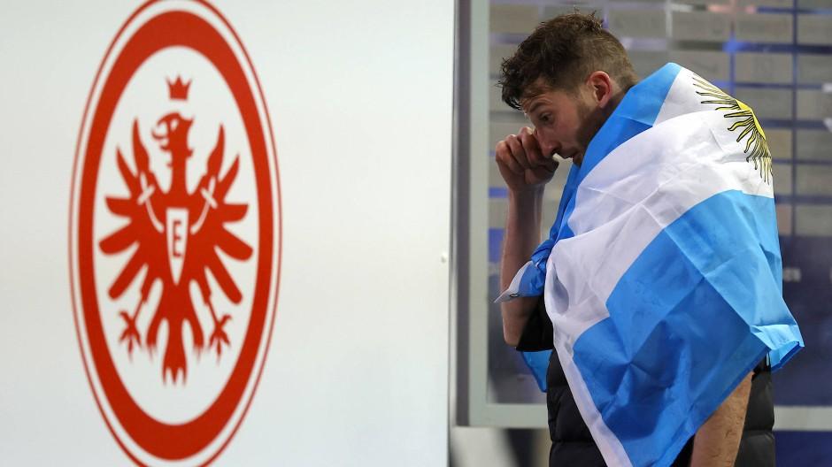 Abschied mit Tränen: David Abraham bestritt gegen Schalke das letzte Spiel seiner Karriere.