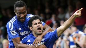 Chelsea gewinnt Treffen der Weltmeister