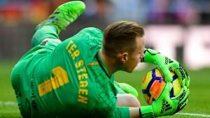 """Ter Stegen ist der """"Messi mit Handschuhen"""""""