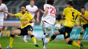 Eine Liga mit Erlebnis- und Ergebniswert: Dortmund und Stuttgart spielen 4:4