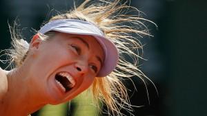 Scharapowa trifft auf Serena Williams