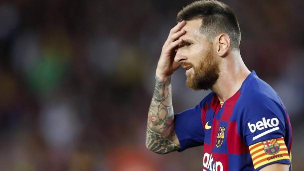 Große Tristesse beim FC Barcelona
