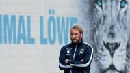 Daniel Bierofka will mit Akteuren der ehemaligen U21 in der Regionalliga Bayern spielen